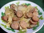 Kielbasa Cabbage and Onions lowcarb Slow Cooker Crock Pot recipe