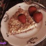 American Strawberry Crumble Pie crumbled to Strawberries Dessert