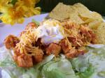 American Easy Chicken Taco Salad for Two Dinner