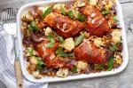 Indian One Tray Indian Roasted Chicken Dinner Recipe Appetizer