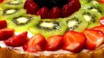 Canadian Fresh Fruit Flan Recipe Dessert