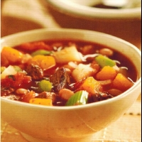 American Western Beef and Vegetable Soup Soup