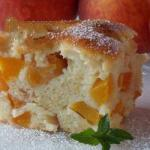Dessert Clafouti Style of Fruit recipe