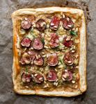 American Fig Tart With Caramelized Onions Rosemary and Stilton Recipe Dessert