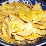 American Fatfree Chips from Cooking Bananas Appetizer
