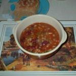 American Stew of Beans and Barley Appetizer
