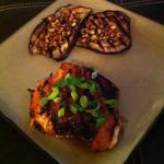 Indonesian Indonesian-style Grilled Eggplant with Spicy Peanut Sauce W BBQ Grill