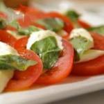 American The Best Caprese Salad Appetizer