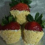 British Frosted Strawberries Recipe Appetizer