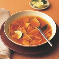 American Spicy Sweet Potato Soup Soup