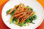 American Roasted Carrots With Kecap Manis and Ginger Recipe Appetizer
