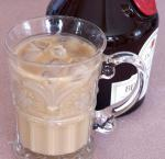 French Iced Benedictine Coffee Drink
