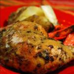American Pesto Roast Chicken BBQ Grill