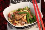Chinese Chilli Pork And Peanut Stirfry With Beans Recipe Appetizer