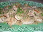 American Simmered Pork with Mustardcaper Sauce Dinner
