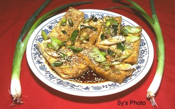 Chinese Fried Bean Curd tofu With Soy Sauce by Sy Dinner