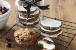 American Cranberry And White Chocolate Anzac Biscuits Recipe Dessert