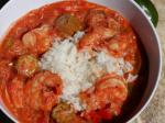 American Gumbo With Shrimp Crab  Andouille Sausage With Okra Dinner