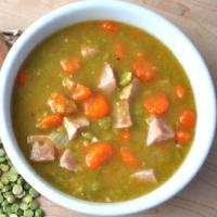 British Split Pea Soup with Ham Soup