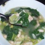 American Spinach and Leek White Bean Soup Recipe Appetizer