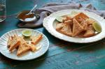 Chinese Sesame And Lime Prawn Toasts Recipe Appetizer