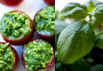 American Cherry Tomatoes Stuffed With Pesto Recipe Appetizer