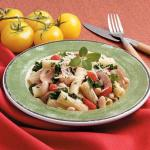 American White Beans with Rigatoni Appetizer