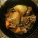 American Beef Stew in the Slow Cooker Dinner