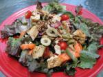 American Chicken Salad With Maple Vinaigrette Drink