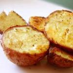 American Crispy Roast Potatoes Appetizer