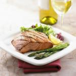 American Grilled Salmon With Lemon and Ginger Appetizer