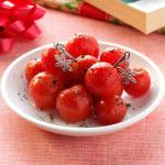 British Vodkainfused Cherry Tomatoes Appetizer