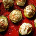 Australian Courgettes with Feta and Fresh Mint Appetizer