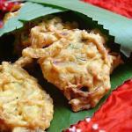 Indian Bhaji Onions donuts of Onions Indians Appetizer