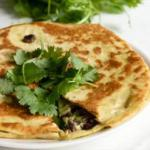 American Black Bean Goat Cheese Quesadillas with Guacamole Dinner