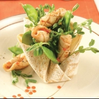 French sweet Chilli squid Appetizer