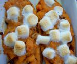 Canadian Twice Baked Sweet Potatoes for the Sweet Tooth Breakfast