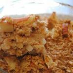Apple Pie in the Oven with Oats recipe
