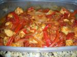 British Chicken and Andouille Sausage With Peppers ww  Points Dinner