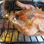 Australian Roast Chicken at the Tarragon Dinner