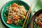 American Salmon Ginger And Soba Noodle Stirfry Recipe Appetizer