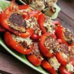 American Peppers Stuffed with Cheese and Potato Appetizer
