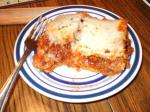 British Extra Cheesy Lasagna for Roy Dinner