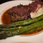 American Beef- Herb-crusted with Zinfandel-shallot Sauce BBQ Grill