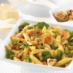Canadian Penne Rigate with Chicken Watercress and Walnuts Dinner