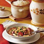 Canadian Gumbo sausages and Chicken Soup