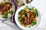 Moroccan Moroccan Lamb Chops With Quinoa Salad Recipe Dinner