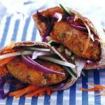 American Pita Breads with Falafel Appetizer