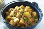 Indian Indian Potato Paneer and Pea Curry Recipe Appetizer