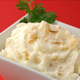American Goat Cheese Mashed Potatoes Dinner
